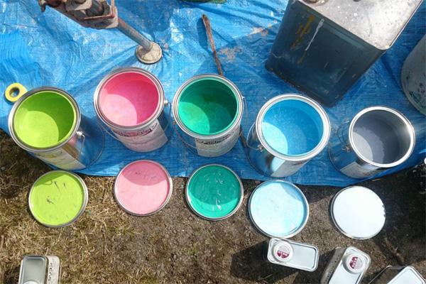 外壁塗装は材料費に30%かかる